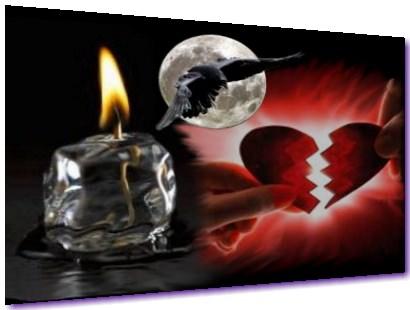 Briser les relations amoureses magie noire