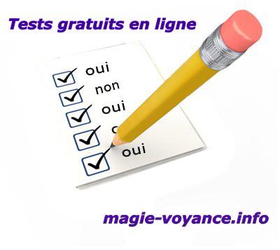 ... magie, sorcellerie, voyance, guérison. Tests gratuits en ligne 539f5ab6bd41